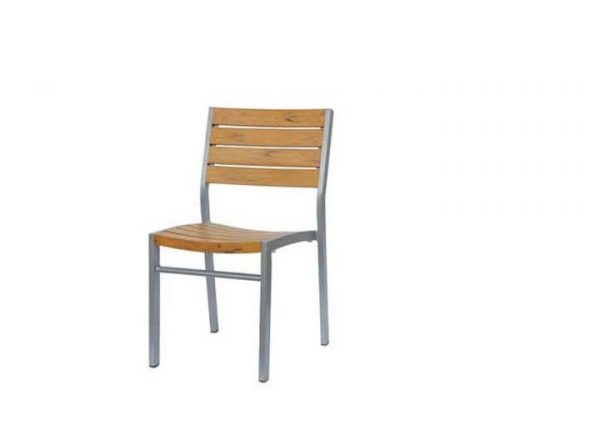 Cool Ratana Newmirage Stacking Chair Armless Patio Furniture Interior Design Ideas Tzicisoteloinfo